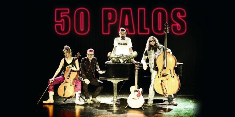 Jarabe de Palo regresa a los escenarios con su nuevo álbum titulado 50 Palos
