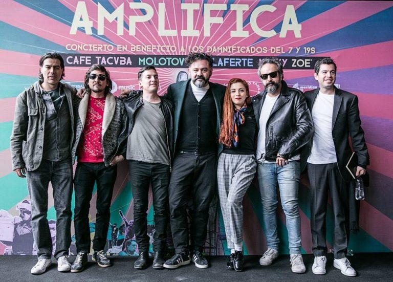 Café Tacvba, Kinky, Molotov, Mon Laferte y Zoé amplifican su ayuda
