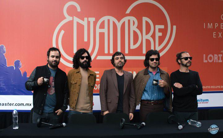 Después de cancelar, Enjambre ofrecerá un show inolvidable en el Auditorio Nacional