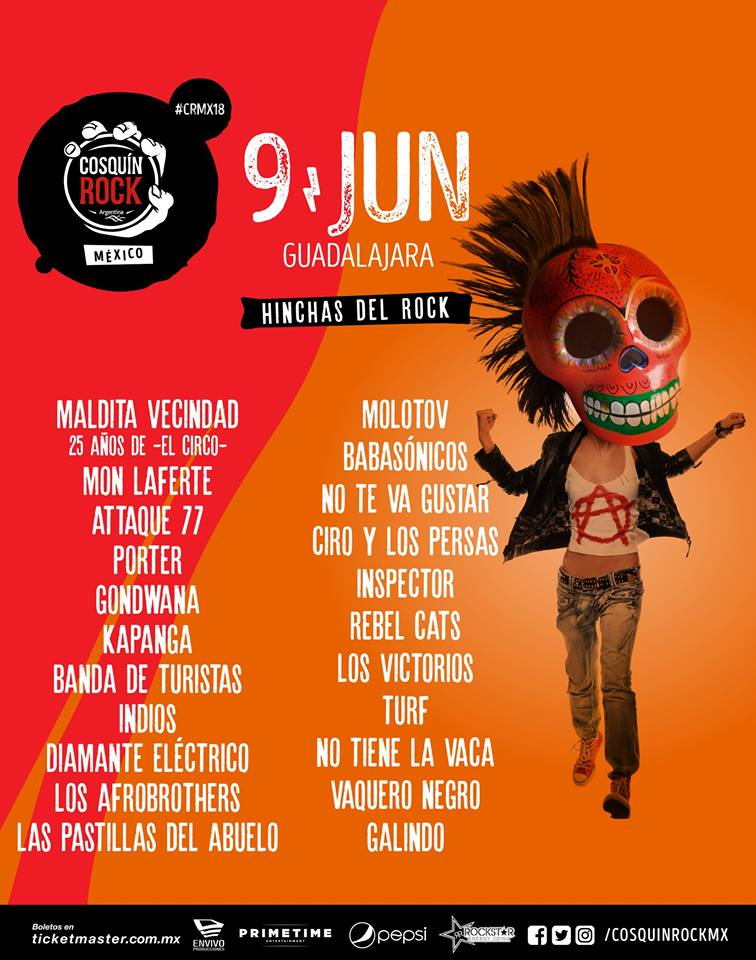 cosquin rock 2018 flyer