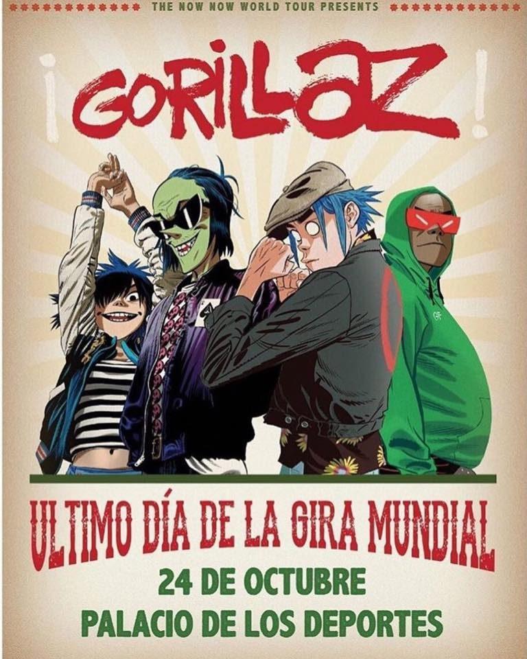 Todos los detalles de Gorillaz en el Palacio de los Deportes