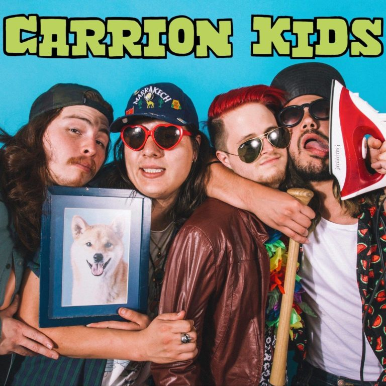 La fuerza del garage de Carrion Kids