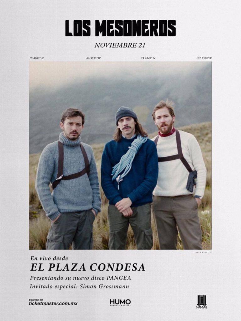 Los Mesoneros presentan 'PANGEA' en El Plaza Condesa